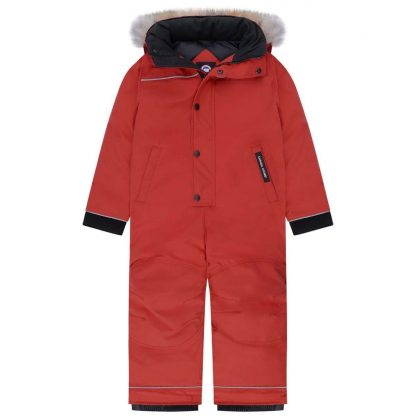 0c72e26731b5 RED CANADA GOOSE UK SALE GRIZZLY SNOWSUIT